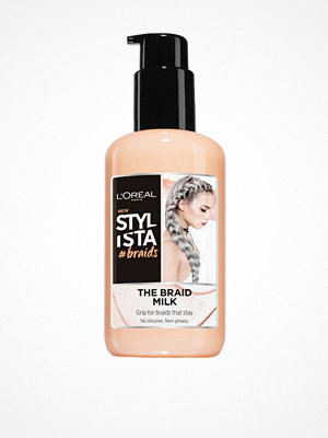 Hårprodukter - L'Oréal Paris Stylista Braid Milk 200ml Transparent