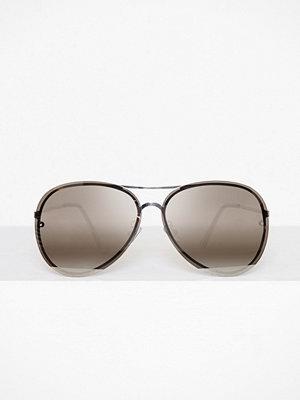 Solglasögon - Pieces Pcisabella Sunglasses Beach Silver