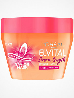 Hårprodukter - L'Oréal Paris Dream Lengths Mask 300ml Transparent