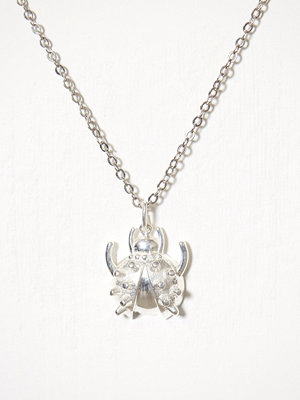 Blue Billie smycke Bug Charm Silver