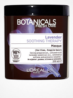 Hårprodukter - L'Oréal Paris Botanicals Lavender Mask 200ml Transparent