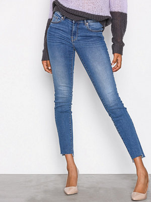 Gina Tricot Emma Jeans Mid Blue