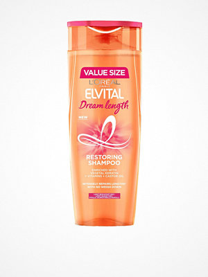 Hårprodukter - L'Oréal Paris Dream Lenghts Shampoo 400ml Transparent