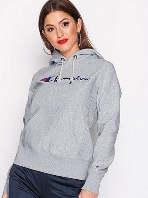 Street & luvtröjor - Champion Hooded Sweatshirt Grey Melange