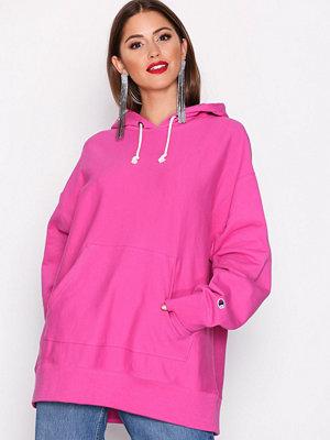 Street & luvtröjor - Champion Hooded Sweatshirt Rose