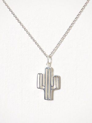 Blue Billie smycke Cactus Charm Silver