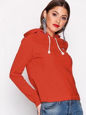 Street & luvtröjor - Champion Hooded Sweatshirt Fire Red