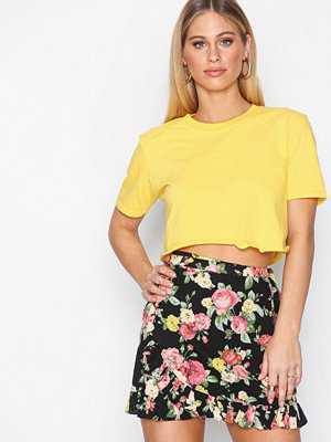 Motel Miza Skater Skirt Bloom
