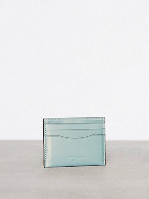 Plånböcker - Coach Flat Card Case Marine