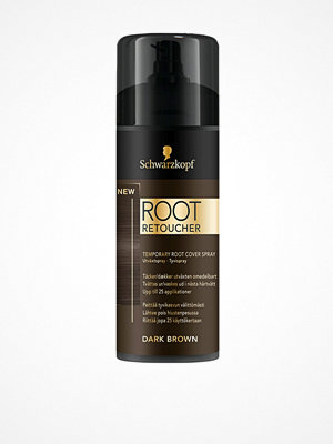 Hårprodukter - Schwarzkopf Root Retoucher Dark Brown