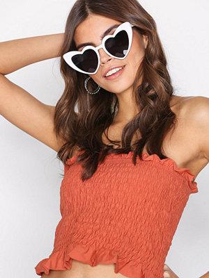 Solglasögon - NLY Accessories Lovely CatEye Sunglasses Vit