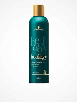 Hårprodukter - Schwarzkopf Beology AntiFrizz Shampoo 400 ml Transparent