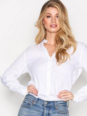 Morris Kirsten Linen Shirt White