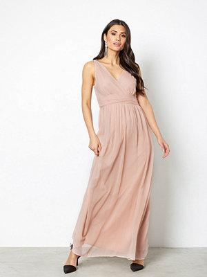 Vero Moda Vmjosephine Sl Maxi Dress Ljus Rosa