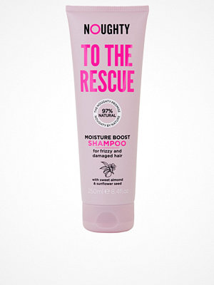 Hårprodukter - Noughty To The Rescue Shampoo 250ml Transparent