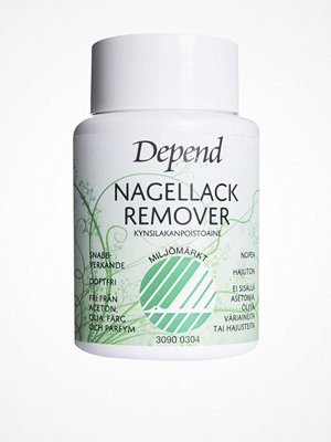 Depend Nail Polish Remover Dip in - Miljömärkt Transparent