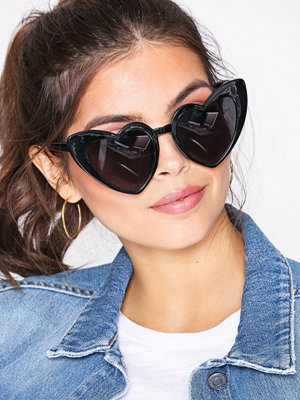 NLY Accessories Lovely CatEye Sunglasses Svart