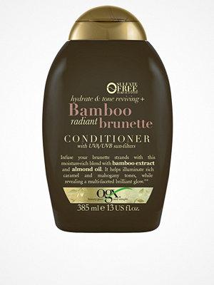 Hårprodukter - OGX Bamboo Brunette Shampoo 385ml Transparent