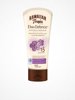 Solning - Hawaiian Tropic DuoDefence Sun Lotion SPF 15 180 ml