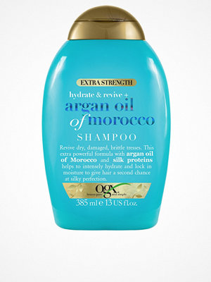 Hårprodukter - OGX Argan Extra Strength Shampoo 385ml Transparent