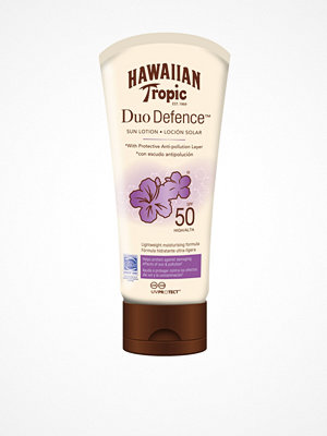 Solning - Hawaiian Tropic DueDefence Sun Lotion SPF 50 180 ml