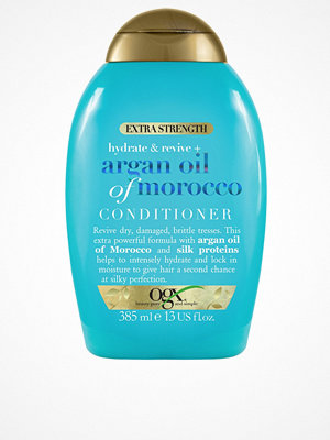 Hårprodukter - OGX Argan Extra Strength Conditioner 385ml Transparent