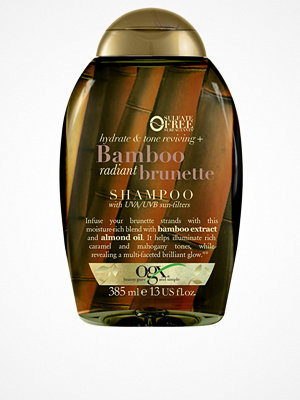 Hårprodukter - OGX Bamboo Brunette Conditioner 385ml Transparent