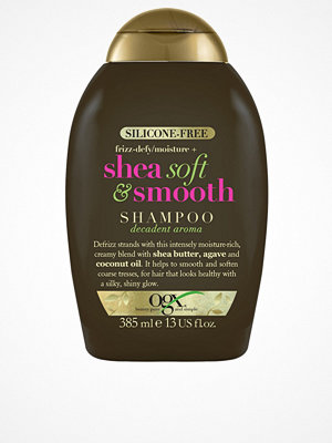 Hårprodukter - OGX Shea Soft & Smooth Shampoo 385ml Transparent
