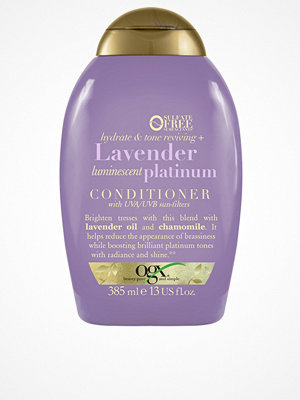 Hårprodukter - OGX Lavender Platinum Conditioner 385ml Transparent