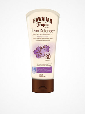 Solning - Hawaiian Tropic DuoDefence Sun Lotion SPF 30 180 ml