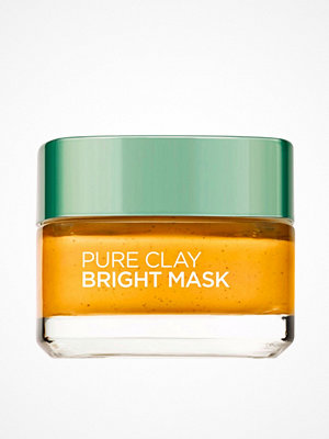 Ansikte - L'Oréal Paris Pure Clay BRIGHT Mask Gul
