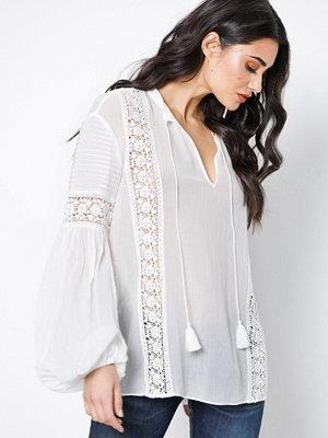Polo Ralph Lauren Long Sleeve Blouse White