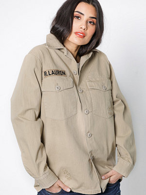 Polo Ralph Lauren Camo Shirt Beige