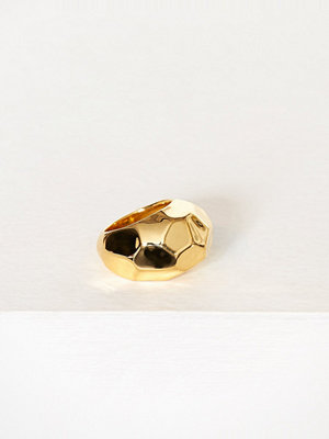 SOPHIE By SOPHIE Hammered Ring Guld