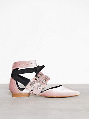 Ballerinaskor - Henry Kole Hope Blush Velvet