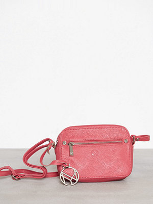 NYPD Crossbody Pisa Leather Rosa axelväska