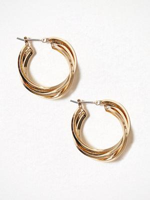 Pieces smycke Pcdea Earrings D2D Guld