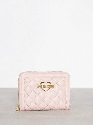 Love Moschino Quiltad Plånbok Pink