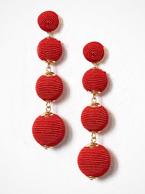 New Look örhängen Orb Drop Earrings Red