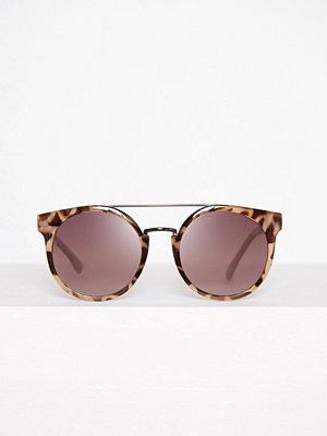 Solglasögon - Topshop Tortoiseshell Frame Sunglasses Brown