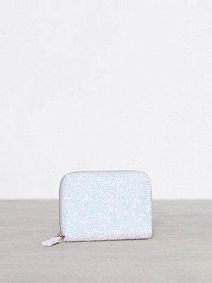 New Look Glitter Cardholder Pale Blue