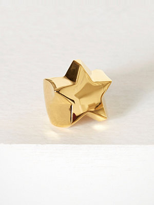 Blue Billie Star Ring Guld