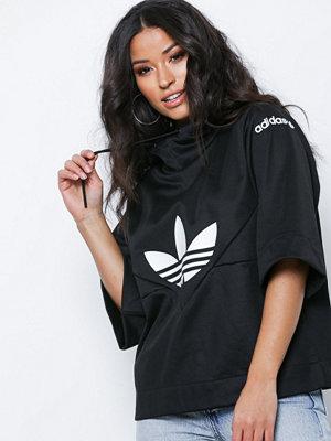 Street & luvtröjor - Adidas Originals CLRDO Sweathood Svart