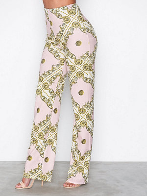 NLY One mönstrade byxor Crepe Print Pant Print