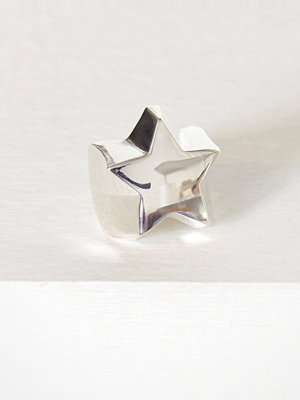 Blue Billie Star Ring Silver