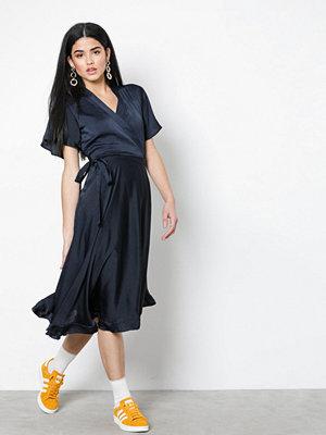 Vero Moda Vmalanna Wrap Dress Mörk Blå
