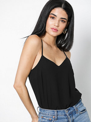 New Look Strap Cami Top Black