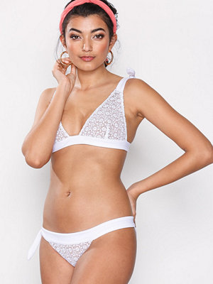 For Love & Lemons Daiquiri Lace Bottom White