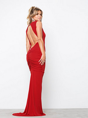 Honor Gold Bella Sleeveless Maxi Dress Red