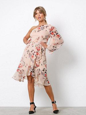 NLY Trend LS Shoulder Dress Blommig